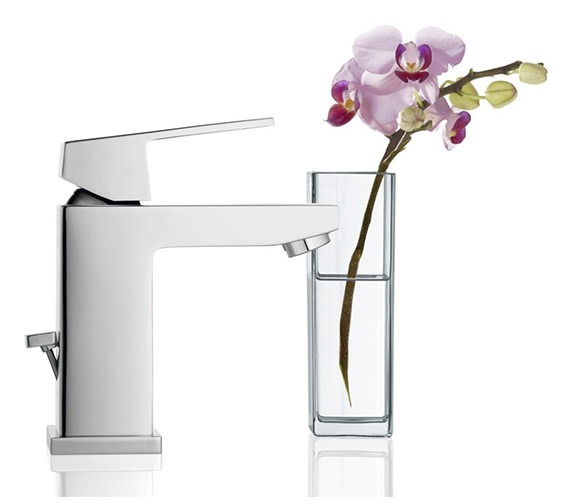 Alternate image of Grohe Eurocube Basin Mixer Tap