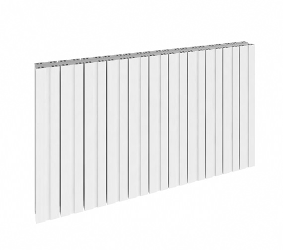 Reina Bova Horizontal Single Aluminium Radiator 1040 x 600mm