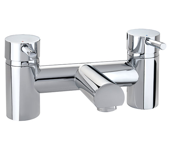 Twyford X60 Deck Mounted Bath Filler Tap - X605255CP