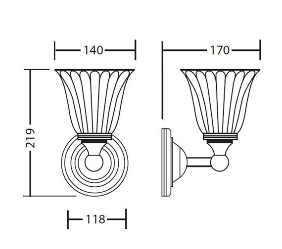 Technical drawing QS-V40742 / XLP1000300