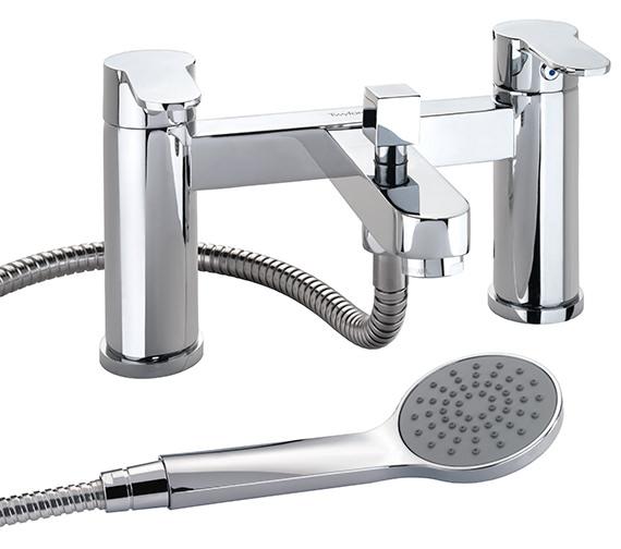 Twyford X50 Deck Mounted Bath Shower Mixer Tap - X505265CP