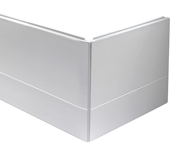 Alternate image of Twyford Endurance 700mm Wide White End Bath Panel