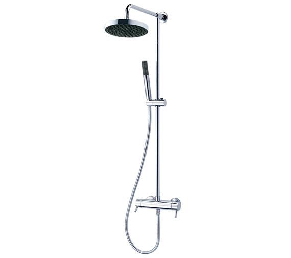 Triton Unichrome Thames Thermostatic Bar Diverter Shower And Kit