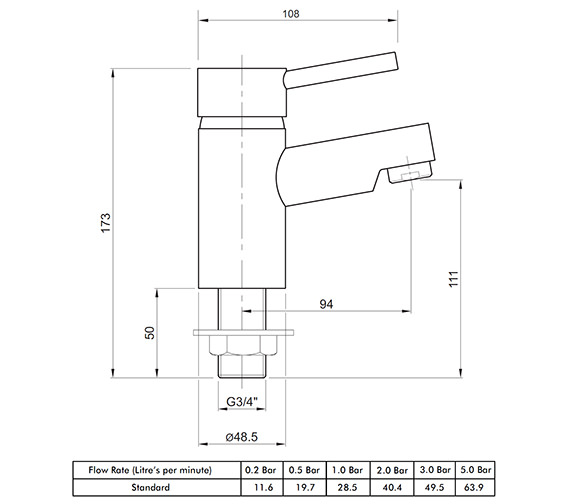 Technical drawing QS-V82169 / X605215CP