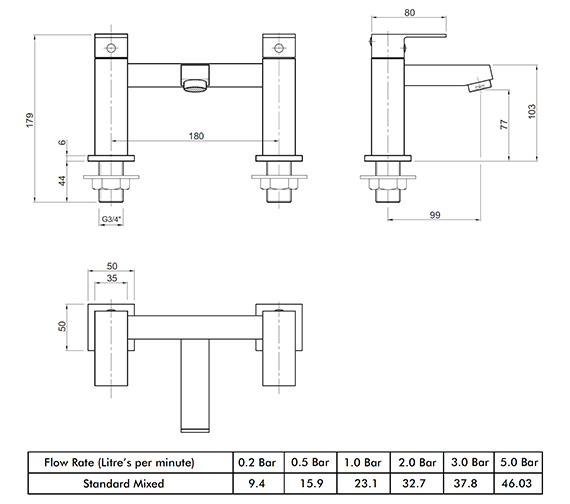 Technical drawing QS-V82177 / X625255CP