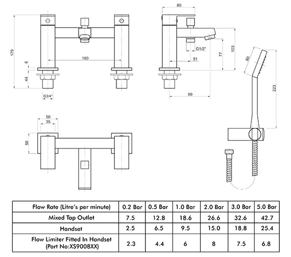 Technical drawing QS-V82178 / X625265CP
