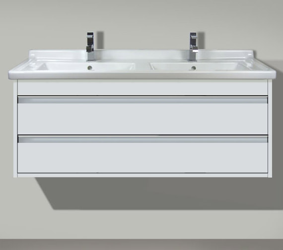 Duravit Ketho 1200 x 465mm Wall Mounted 2 Drawer Vanity Unit