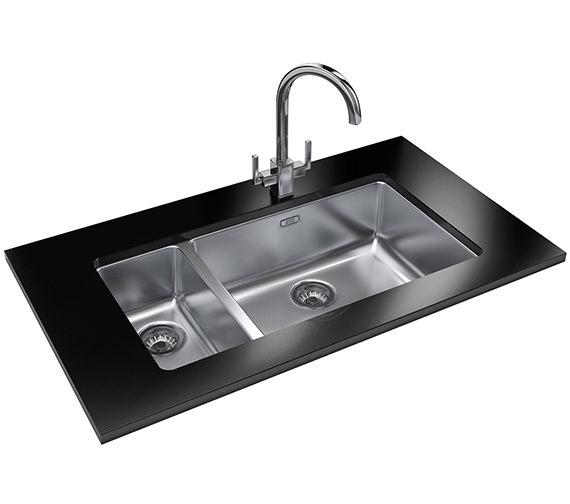 Franke Kubus Designer Pack KBX 160 55-20 Stainless Steel Sink And Tap