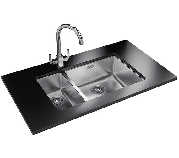 Franke Kubus Designer Pack KBX 160 45-20 Stainless Steel Sink And Tap