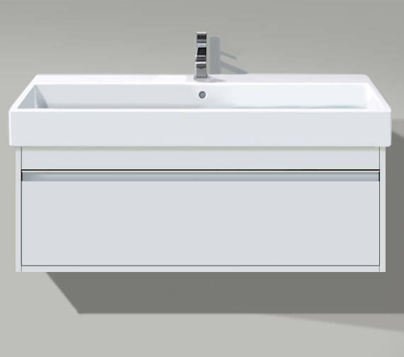 Duravit Ketho 550mm 1 Drawer Unit With Vero 600mm Basin