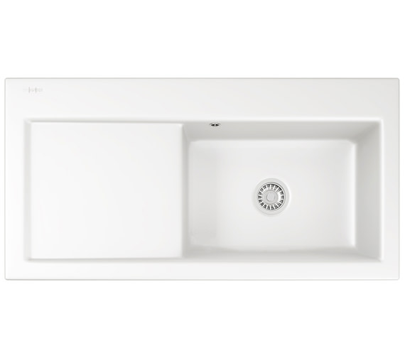 Franke Mythos MTK 611 Ceramic White 1.0 Bowl Kitchen Inset Sink