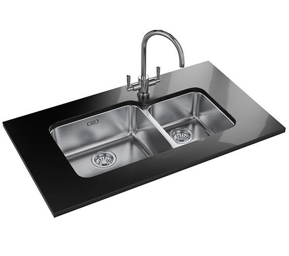 Franke Largo Designer Pack LAX 120 45-30 Stainless Steel Sink And Tap