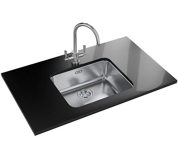 Franke Largo Designer Pack LAX 110 50-41 Stainless Steel Sink And Tap