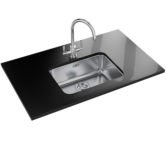 Franke Largo Designer Pack LAX 110 50 1.0 Bowl Stainless Steel Sink And Tap