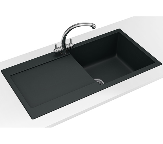 Franke Maris Propack MRG 611 Fragranite Onyx Kitchen Sink And Tap