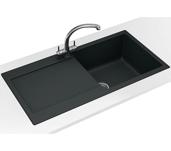 Franke Maris Propack MRG 611 Fragranite Onyx Kitchen Sink And Tap