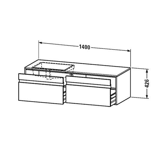 Technical drawing QS-V4285 / KT6897L1818