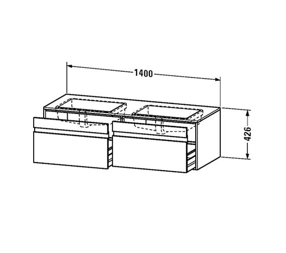 Technical drawing QS-V63314 / KT6898B1818