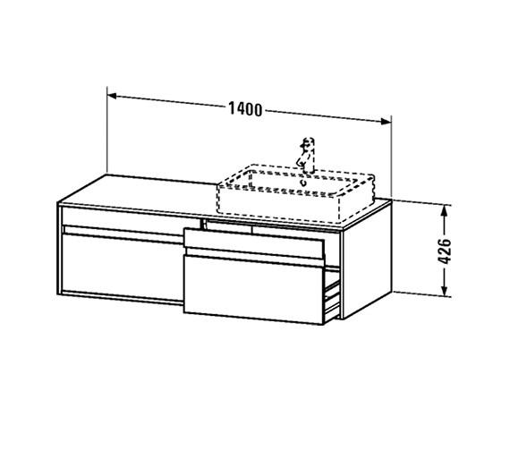 Technical drawing QS-V21072 / KT6697L1818