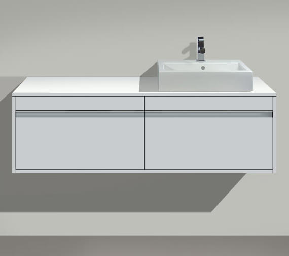 Duravit Ketho Right Hand Cut-Out Unit For Above Countertop Basin