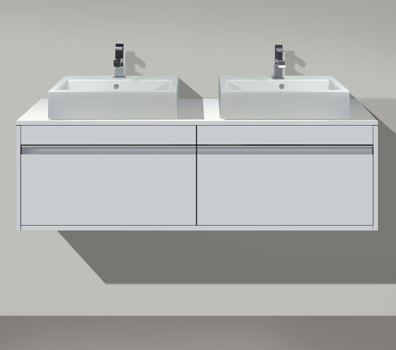 Duravit Ketho Both Side Cut-Out Unit For Vanity Basin