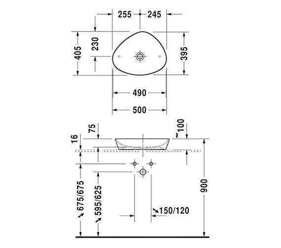 Technical drawing QS-V6324 / 2339500000