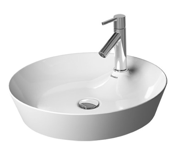 Duravit Cape Cod 480mm Round Washbowl - 2328480000