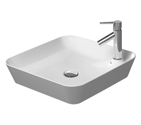 Duravit Cape Cod 460mm Square Washbowl - 2340460000