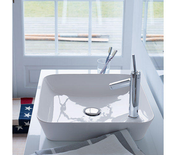 Duravit Cape Cod 460mm Square Wash Bowl - 2340460000