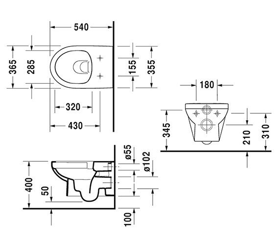 Technical drawing QS-V6331 / 2562090000