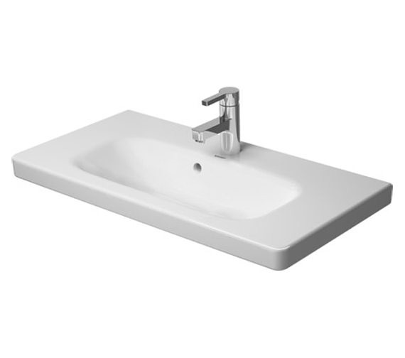 Duravit DuraStyle 785 x 400mm Furniture Washbasin Compact - 2337780000