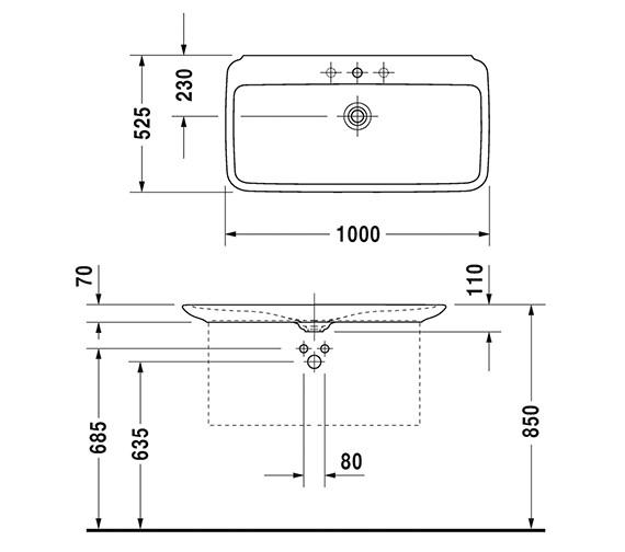 Technical drawing QS-V6332 / 0371100000