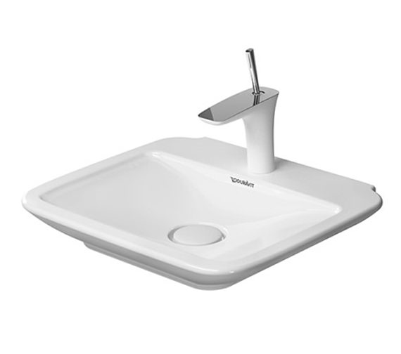 Duravit PuraVida 1TH Furniture Handrinse Basin 500 x 420mm - 0721500000