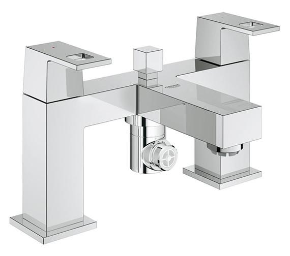 Grohe Eurocube Two Handled Bath Shower Mixer - 25137000