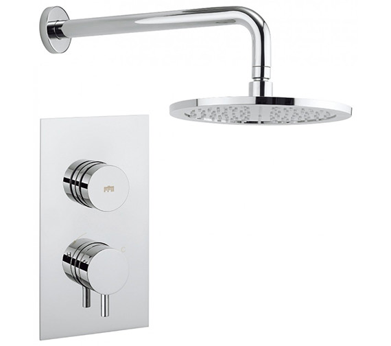 Crosswater Dial - Kai Lever 1 Control Valve With Shower Head And Wall Arm