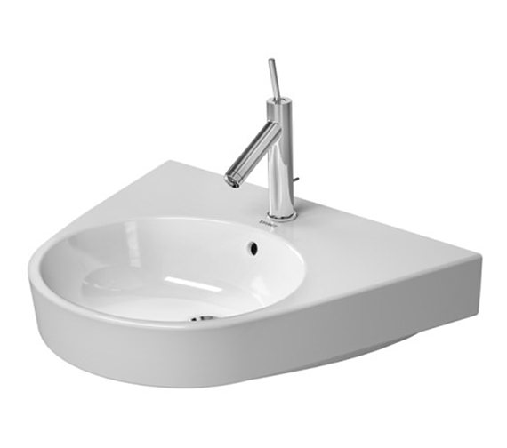Duravit Starck 2 650 x 500mm 1 Taphole Washbasin - 2323650000