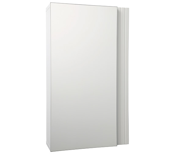 Croydex White Single Door Cabinet 350 x 600mm - WC410122
