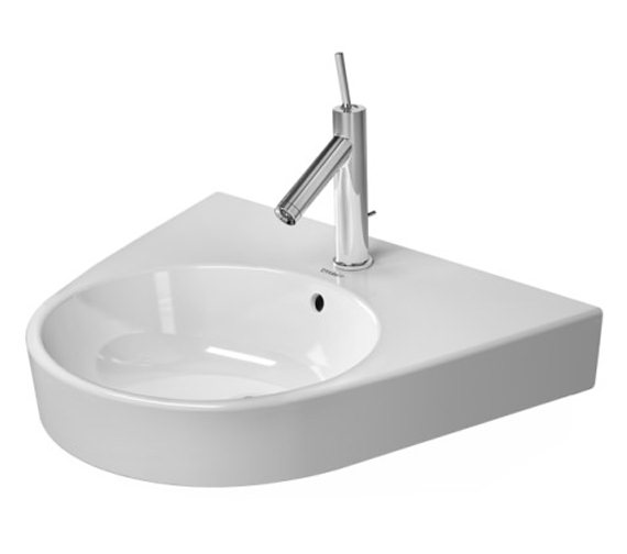 Duravit Starck 2 600mm 1 Taphole Grounded Washbasin - 2323600027