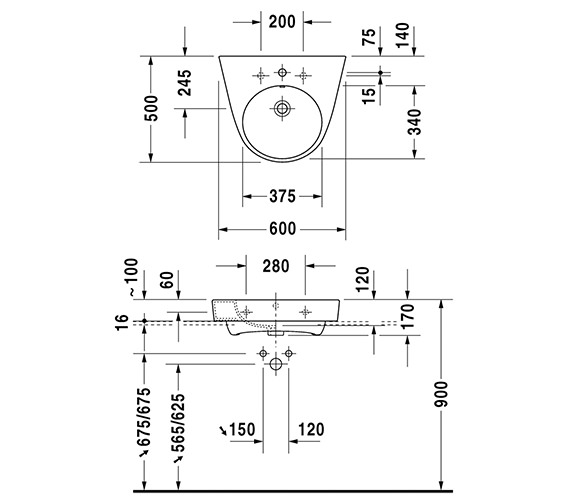 Technical drawing QS-V6339 / 2323600027