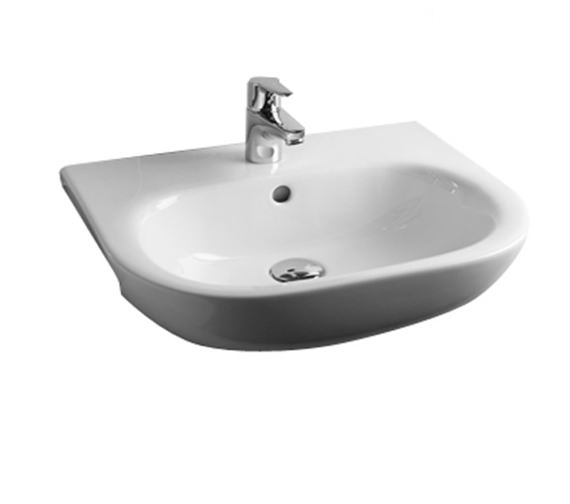 Essential Lily Authentic Semi Recessed Basin 52cm - EC1005