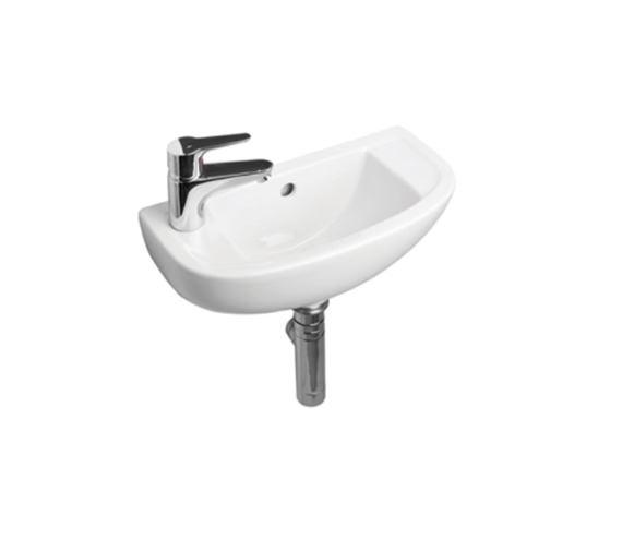 Essential Lily Slimline Basin 45cm Left Hand - EC1012