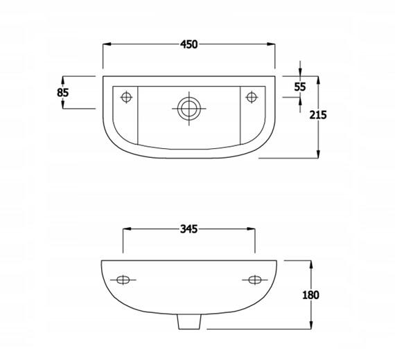 Technical drawing QS-V81315 / EC1012