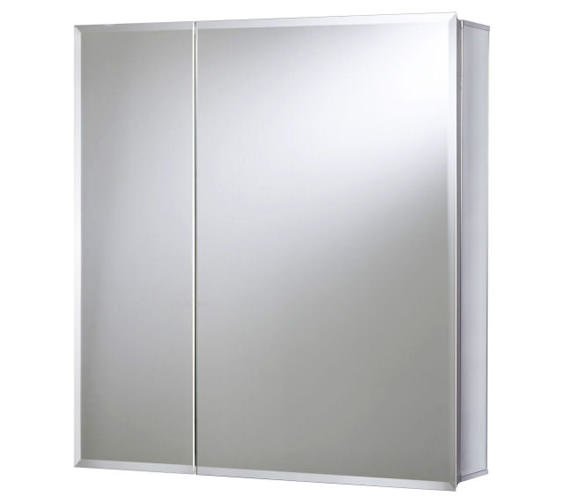 Croydex Wellington Double Door Bi-View Cabinet 610 x 610mm