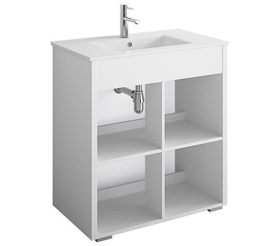 Croydex Norton 800mm Vanity Unit - WS010322