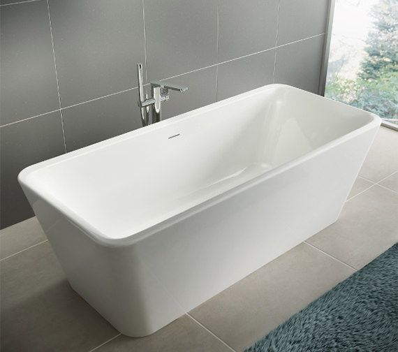 Additional image of Ideal Standard Tonic II 1800 x 800mm Free Standing One Piece DE Bath