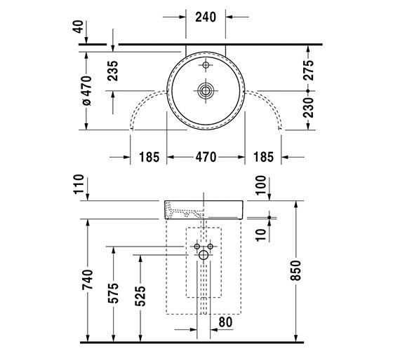 Technical drawing QS-V6334 / 0386470000