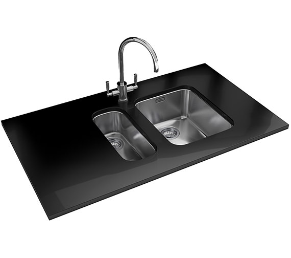 Franke Ariane Propack ARX 110 17D + 110 35 Stainless Steel Sink And Tap