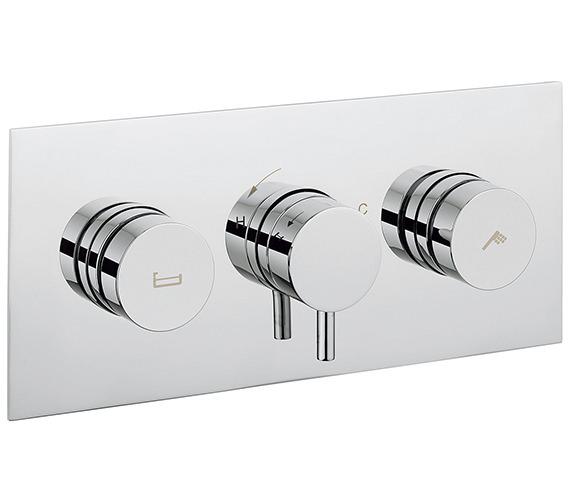 Crosswater Dial 2 Control Bath - Shower Valve