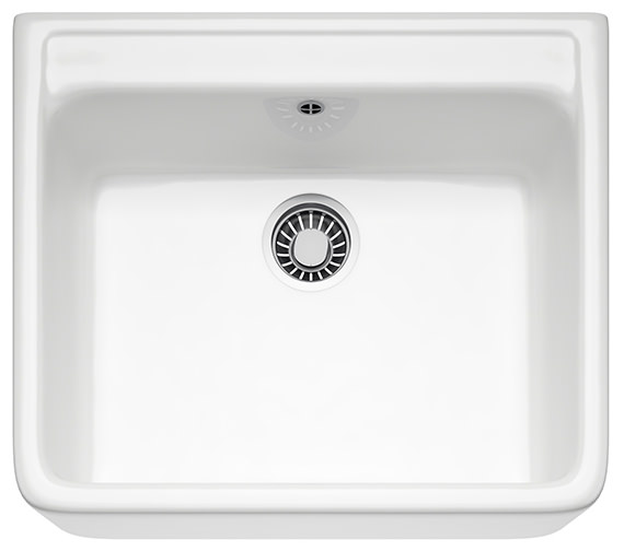 Franke Belfast VBK 710 Ceramic White 1.0 Bowl Kitchen Sink