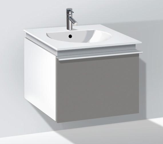 Duravit Darling New 500mm White Matt Vanity Unit With 530mm Basin